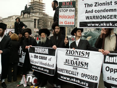 Sociopathic Western Central Planners Creating Hell On Earth! Anti-zionist-jews-in-london1