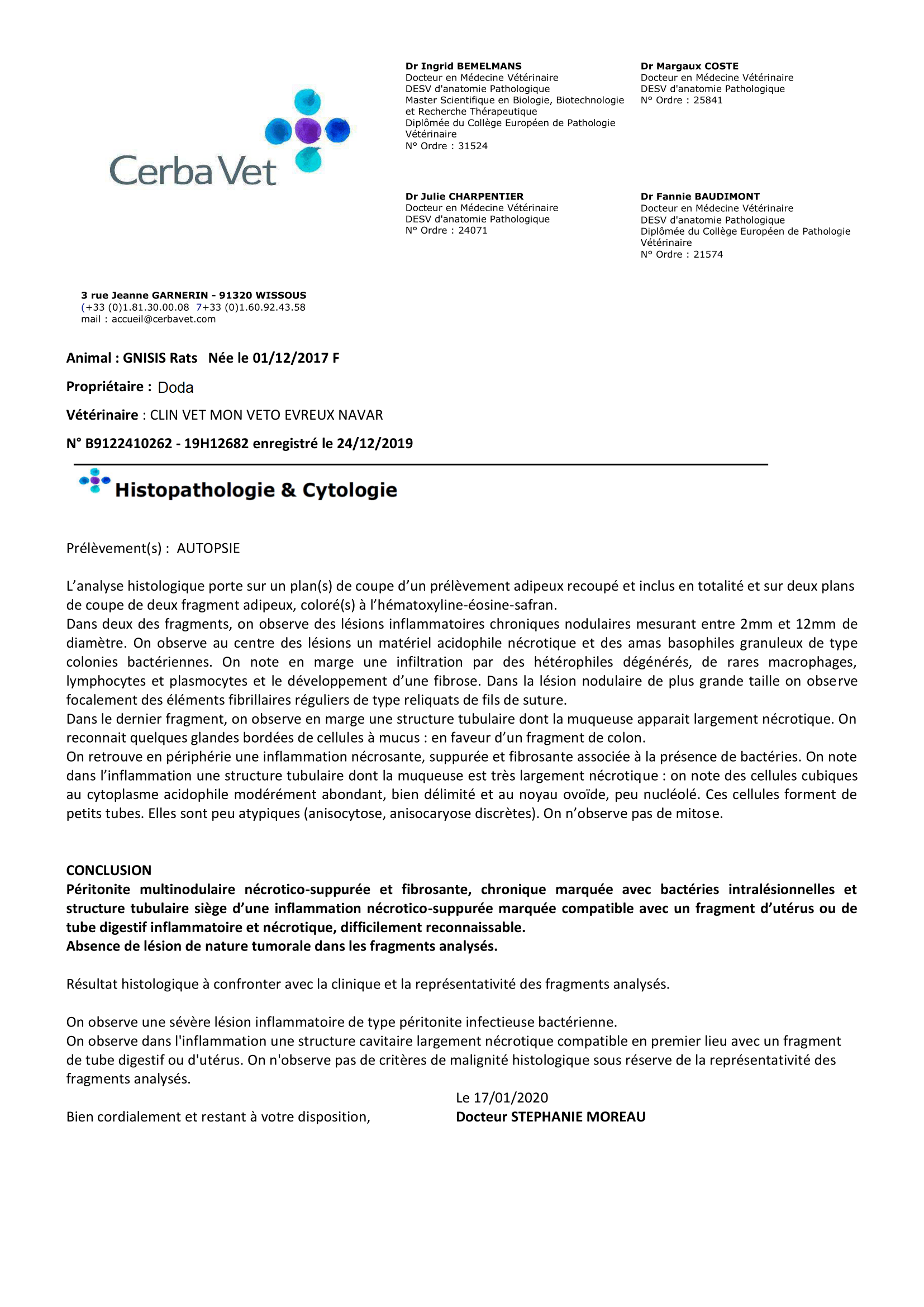 Suivi de la portée DEL Bleue comme une Orange x KRL-PAA Malo - Page 11 Analyses