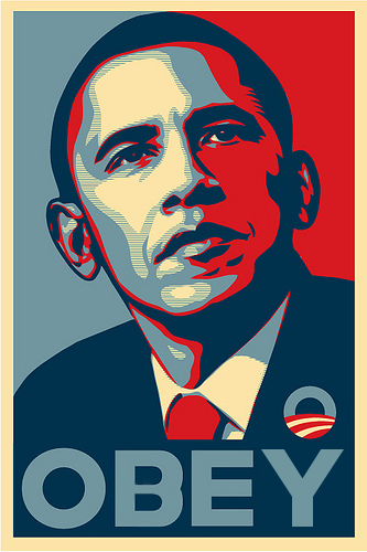 pour - USA, Obama, NDAA et la dérive totalitaire Obama_obey_poster