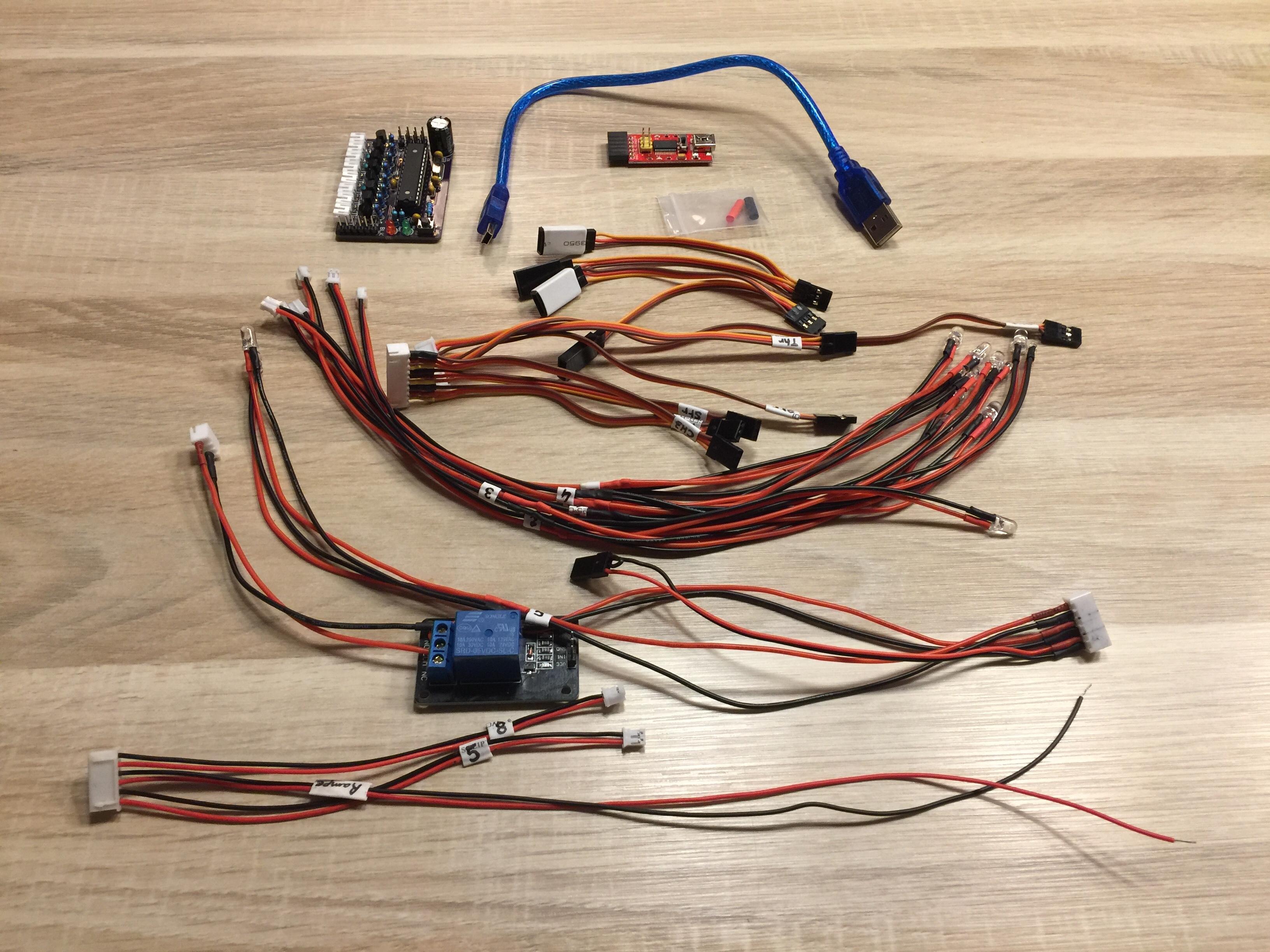 [VENDS] Kit LED RC entièrement configurable Kit_LED-Carte_avec_relais