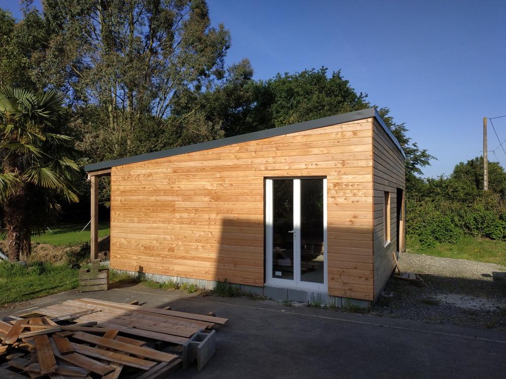Construction d'un garage double en ossature bois - Page 6 Garage_40