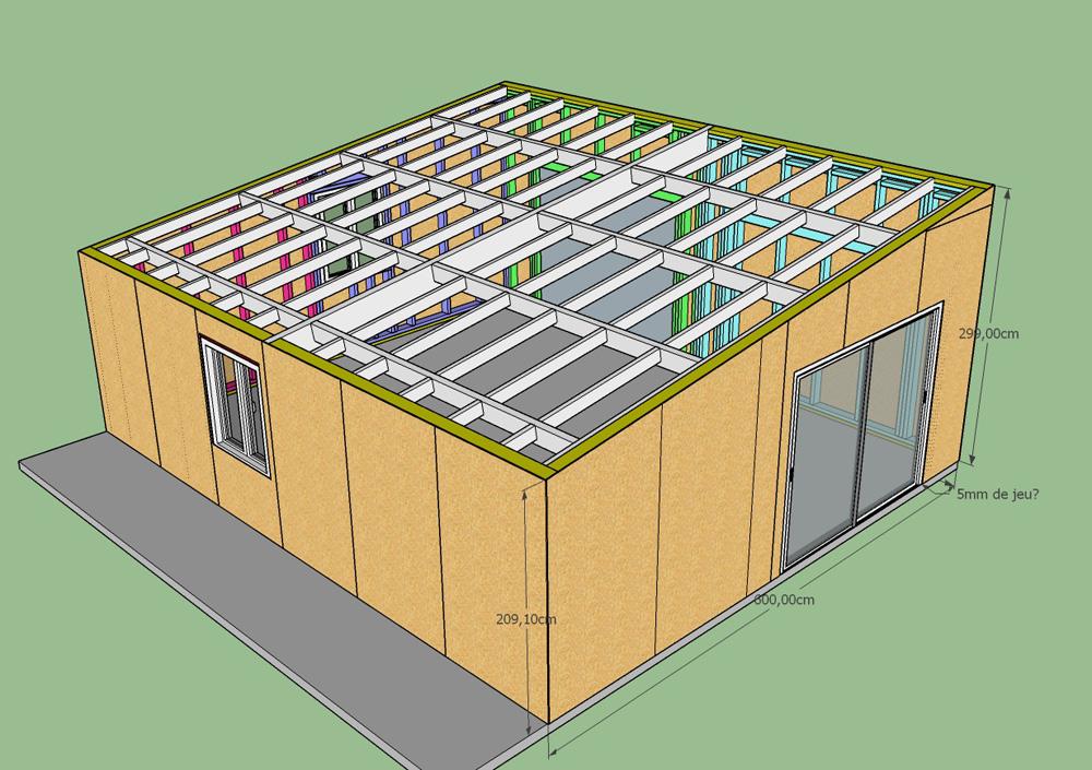 Construction d'un garage double en ossature bois - Page 3 Osb