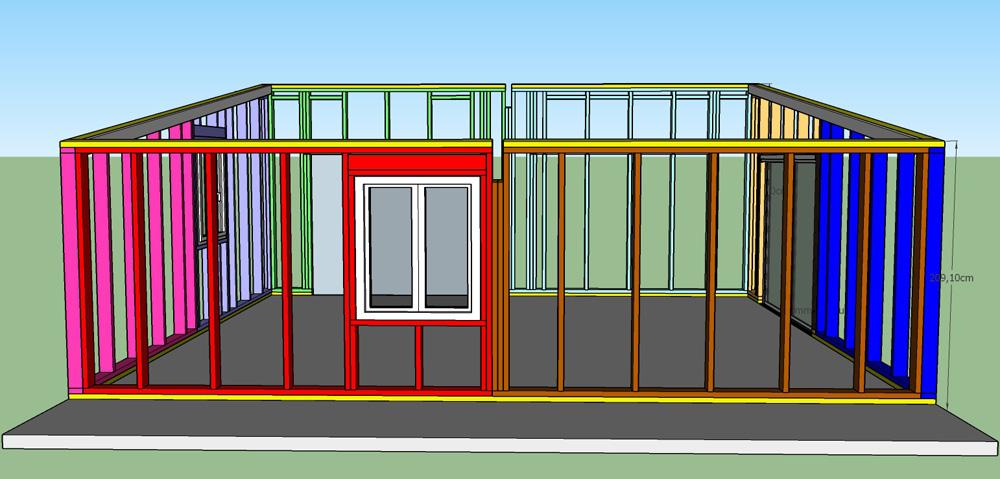 Construction d'un garage double en ossature bois - Page 3 Vue_sud