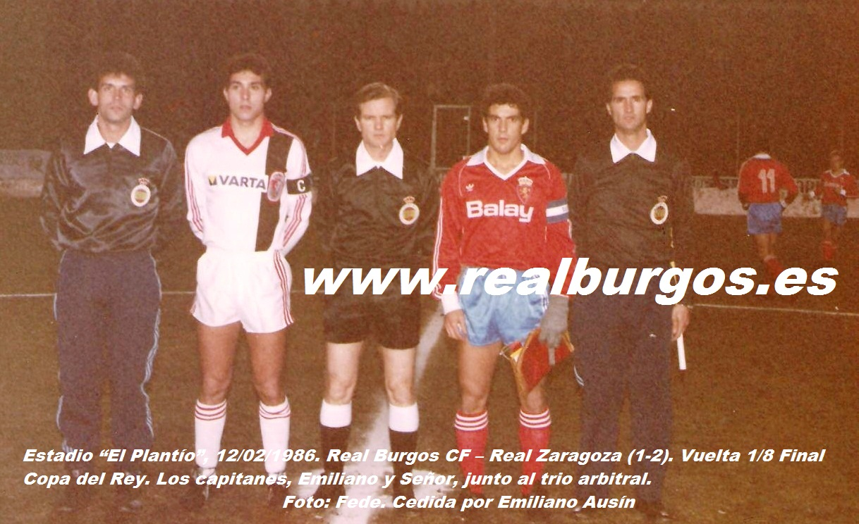 ¿Cuánto mide Juan Señor? 85-86-Real-Burgos-Real-Zaragoza.-Copa-del-Rey