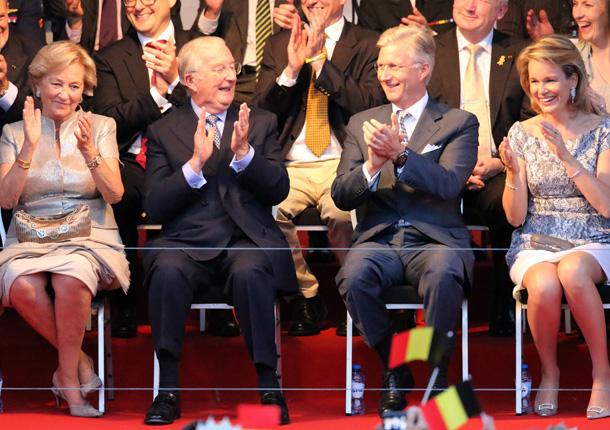 Ascenso al Trono de Felipe de Bélgica y Matilde Concierto-belgas1-z