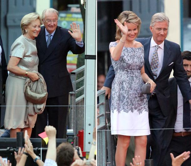 Ascenso al Trono de Felipe de Bélgica y Matilde Concierto-belgas3-z