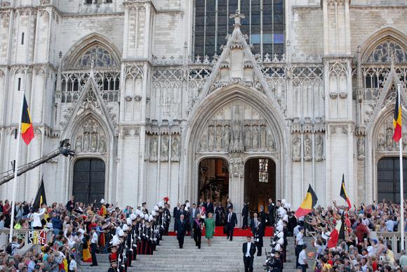 Ascenso al Trono de Felipe de Bélgica y Matilde Tedeum-3-a