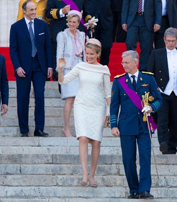 Ascenso al Trono de Felipe de Bélgica y Matilde Tedeum-4-a
