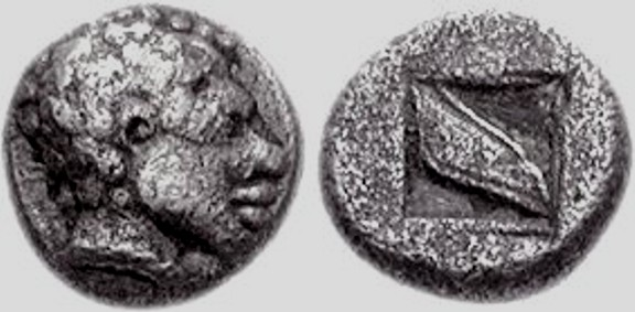 study of Black Mediterranean History, via Coin and Pottery Lesbos