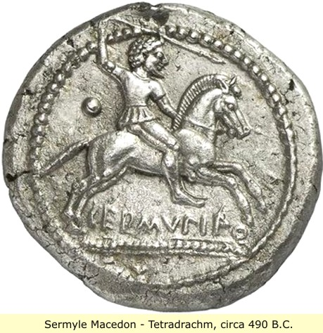 study of Black Mediterranean History, via Coin and Pottery Sermyle_coin