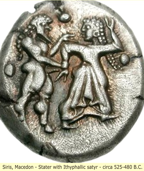 study of Black Mediterranean History, via Coin and Pottery Siris_coin