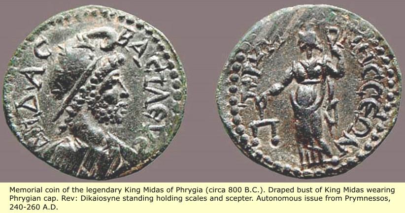 study of Black Mediterranean History, via Coin and Pottery Midas