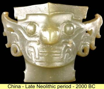 La sculpture chinoise ancienne Xia_jade