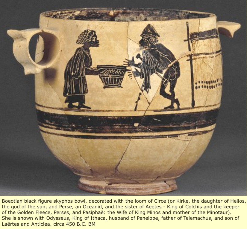 study of Black Mediterranean History, via Coin and Pottery Circe_1