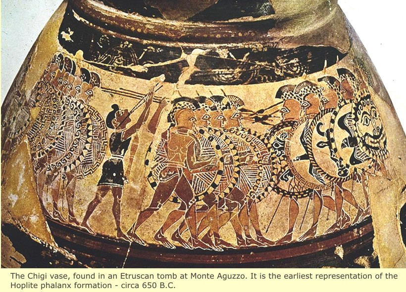 study of Black Mediterranean History, via Coin and Pottery Hoplite_chigi