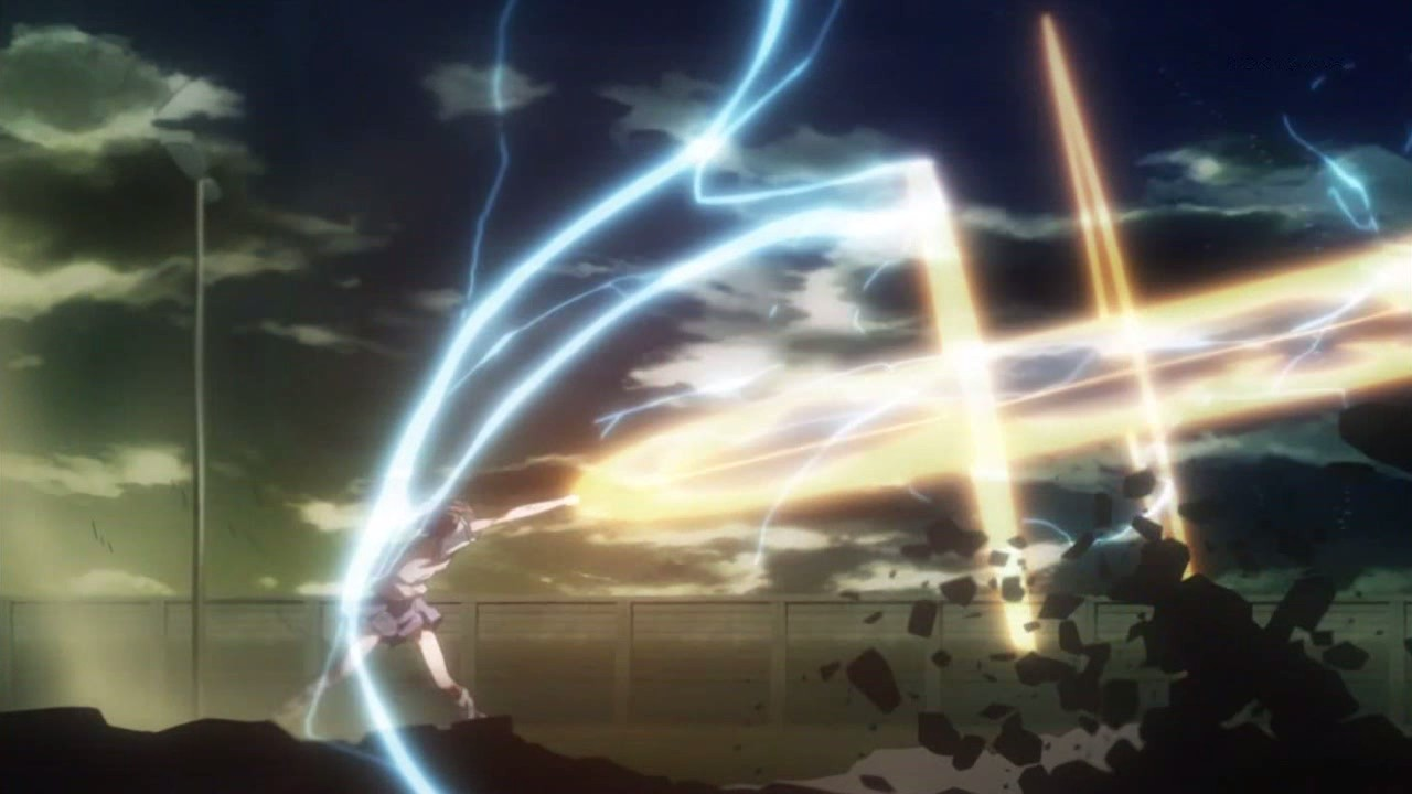 Yuu Narukami- ID - THE WHITE KNIGHT  Railgun-5