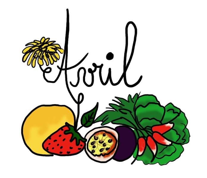 le mois d'avril Avril