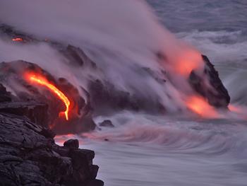 La Tierra, desde su creación hasta su destrucción. Lava1