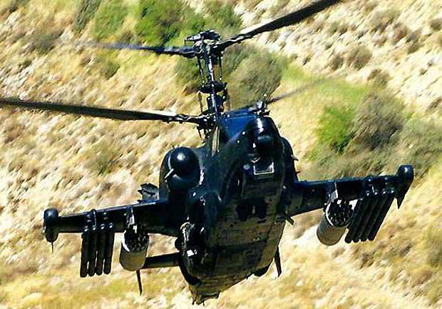 Hélicoptères de combats Ka50