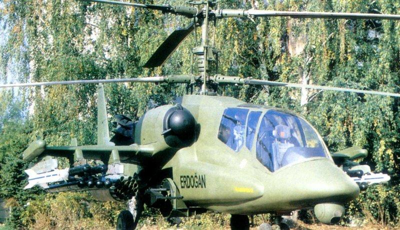 Hélicoptères de combats Ka50erdogan