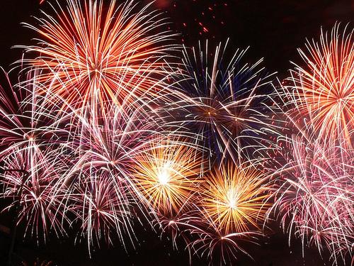 Пожелания и благодарности!  Fireworks