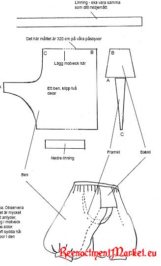[Viking, scandinave] Pantalon 5355_1