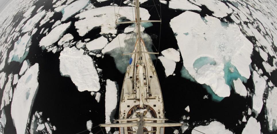 Au Groenland, une mission scientifique pour mesurer l'impact du réchauffement 14189298