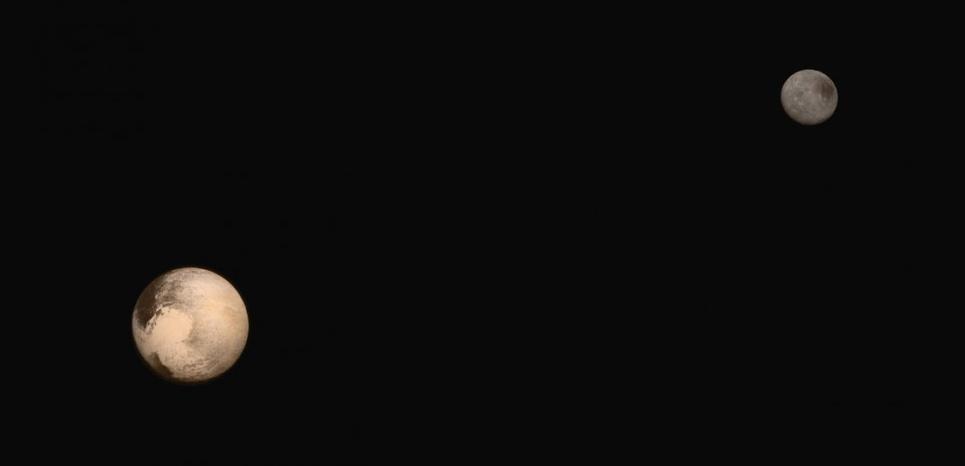 """""""Avec les images de New Horizons, Pluton ressemble à une planète à part entière"""" 14217434"""