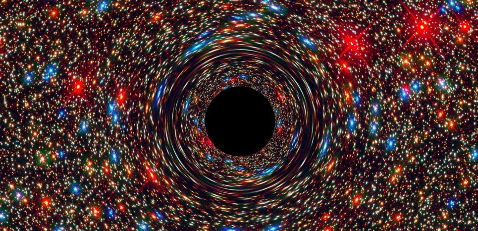 """Stephen Hawking : """"Un trou noir est une porte vers un autre Univers"""" 15095468"""