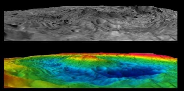 Astéroïde Vesta : un «fossile» de planète inachevée 3674235