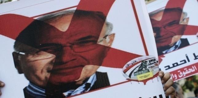 La candidature à la présidentielle d'Ahmad Chafiq, pilier de l'ancien était contesté par les ex-révolutionnaires. (Nasser Nasser/AP/SIPA)