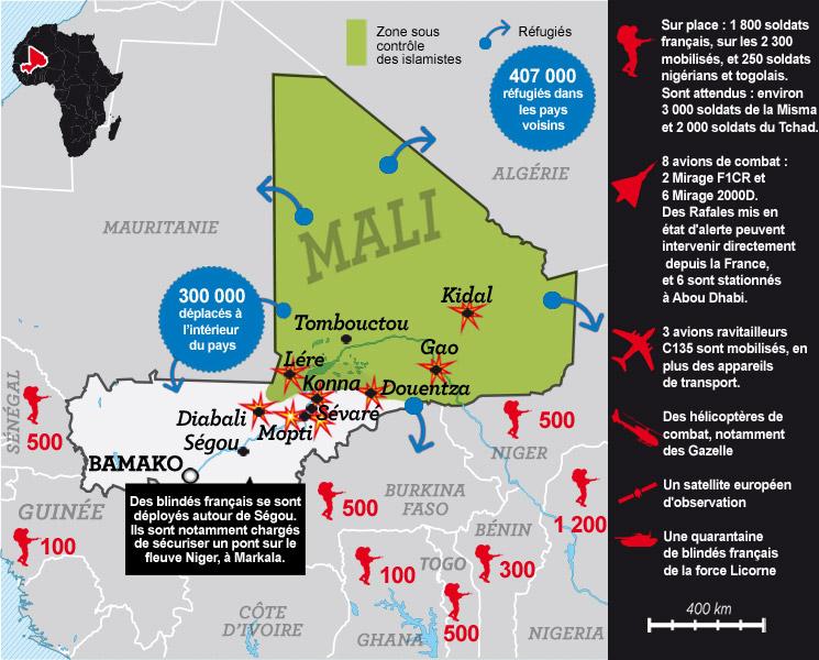 L'intervention militaire française au Mali vise-t-elle à assurer les intérêts d'Areva ? 5098020