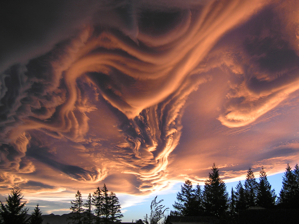 Asperatus: une formation nuageuse sublime et rarissime 5361567