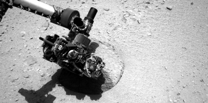 [Curiosity/MSL] L'exploration du Cratère Gale (2/3) - Page 4 5580030-curiosity-l-etonnante-experience-pour-tester-le-sol-martien