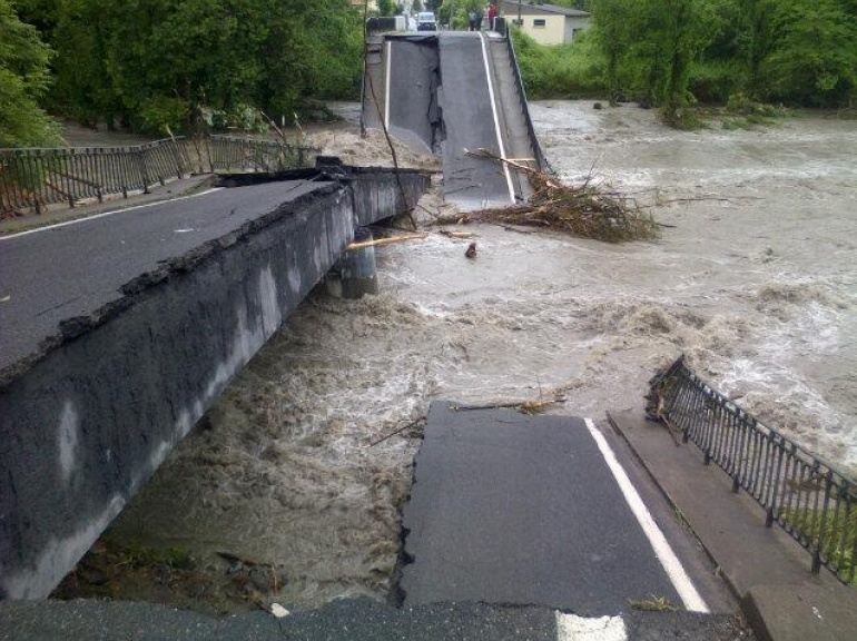 EN IMAGES. Inondations dans le Sud-Ouest 5948073