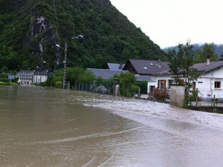 EN IMAGES. Inondations dans le Sud-Ouest 5948085