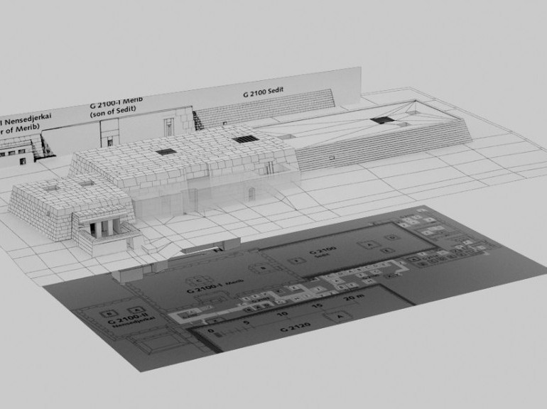 DIGITAL HERITAGE : Gizeh en 3D Par Cécile Dumas 6590435