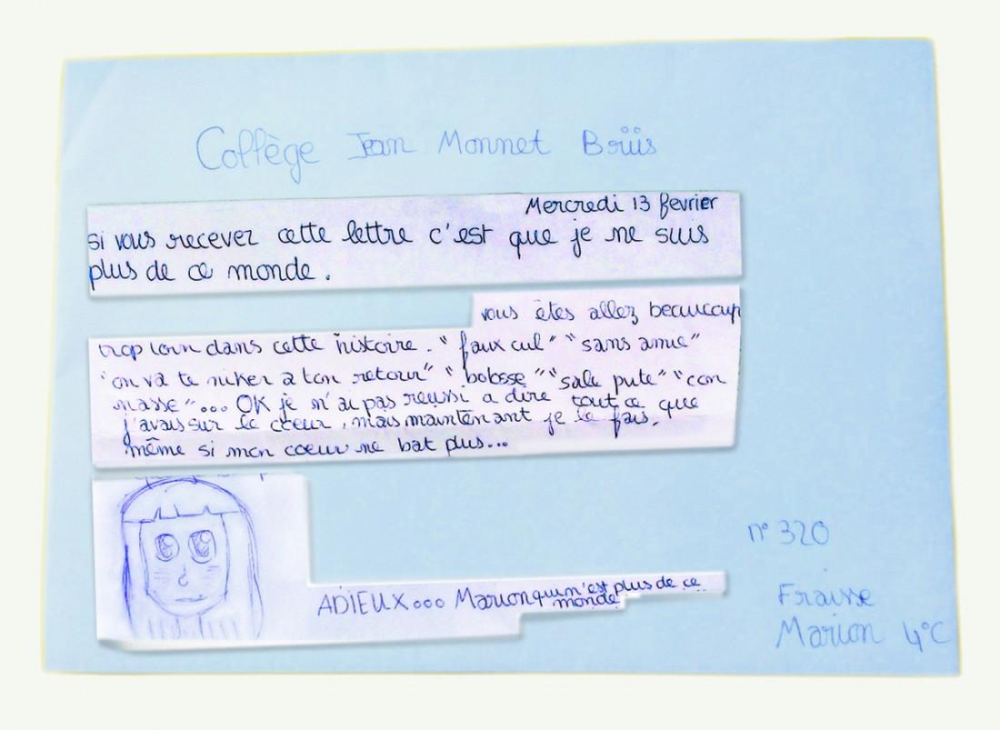 """Nora Fraisse, mère de Marion, porte plainte contre l'EN après le suicide de sa fille : """"Il se passe des choses très graves au sein de nos établissements scolaires"""". - Page 3 6634243"""