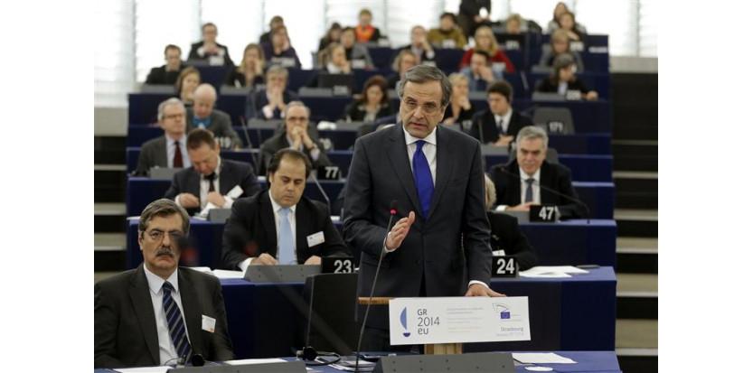 Réponse cinglante de Nigel Farage à la Présidence Européenne Grecque  6847415-la-grece-exemple-de-l-europe-qui-marche-pour-antonis-samaras