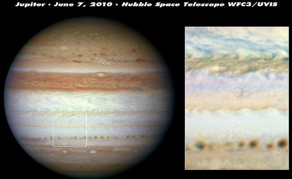 Jupiter a perdu sa bande équatoriale sud 976201