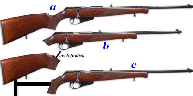 carabine take-down (démontable) Photo431