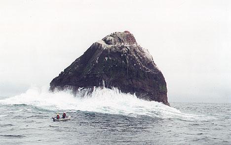 symbolisme du rocher Rockall-assault