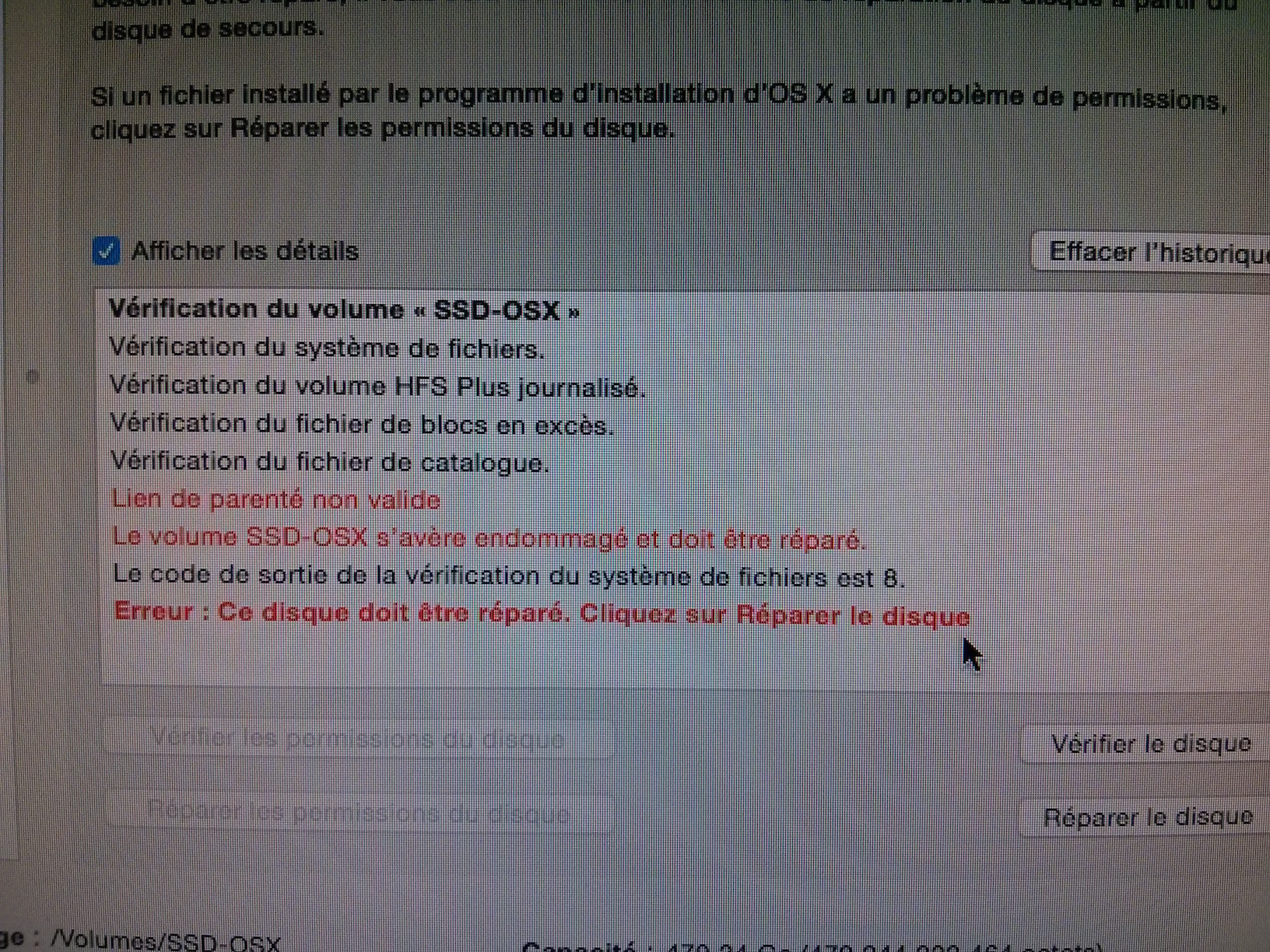 [Résolu] Soucis avec Clover ou OSX : écran noir au boot 3112a2a7689080246253aaa00c0fa05b8e3bd147