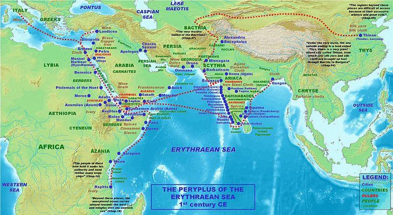 Le Périple de la mer Érythrée Peripl1