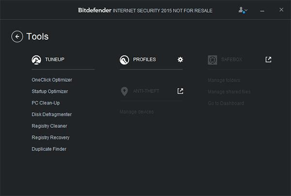 Лучший антивирус 2015 Bitdefender-is-2015-tools