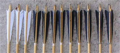 La flèche médiévale, La flecha medievales Archer-fleche-encoche