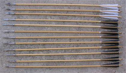 La flèche médiévale, La flecha medievales Archer-fleche-le-fut