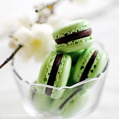 """ The Sweet Thing For Everyone "" Mint-macarons"