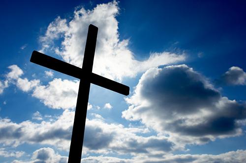 ''Une des plus belles pages de la Bible pour conduire notre coeur au coeur de la miséricorde'' Cross-in-sun
