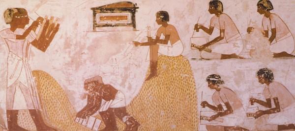 10 choses hallucinantes à savoir sur l'éducation en Afrique avant l'arrivée des Européens Egyptian-Scribe-and-Students-600x268